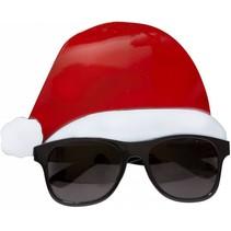 Kerstbril Kerstmuts