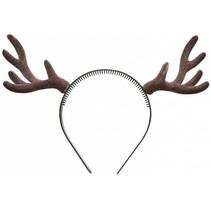 Kerst Haarband Rendier Bruin