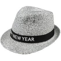 Oud en Nieuw Hoed Glitter Happy New Year