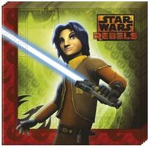 Star Wars Rebels Servetten 20 stuks