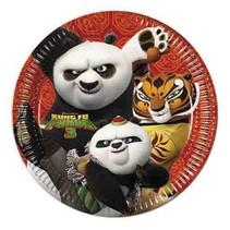 Kung Fu Panda Borden 23cm 8 stuks (F8-2-1)