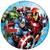 Avengers Borden Mighty 23cm 8 stuks