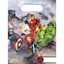 Avengers Uitdeelzakjes Mighty 6 stuks