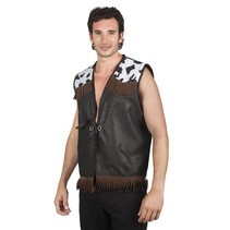 Cowboy Vest Zwart L/XL