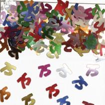 Tafelconfetti 75 Jaar 1cm 600 stuks (D2-2-2)