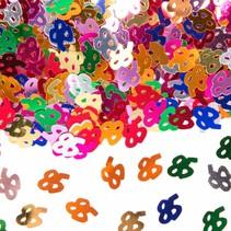 Tafelconfetti 85 Jaar 1cm 600 stuks (D2-7-2)