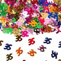 Tafelconfetti 35 Jaar 1cm 600 stuks (D6-3-3)