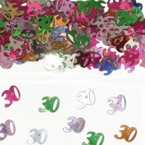 Tafelconfetti 30 Jaar 1cm 600 stuks
