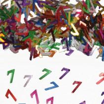 Tafelconfetti 7 Jaar 1cm 600 stuks
