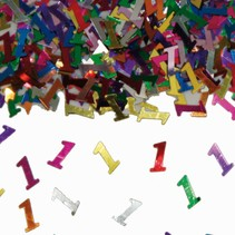 Tafelconfetti 1 Jaar 1cm 600 stuks