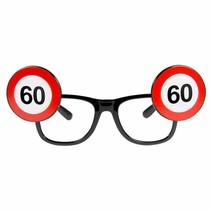 Bril 60 Jaar Verkeersbord (D4-5-7)