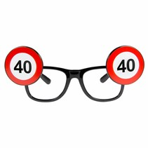 Bril 40 Jaar Verkeersbord