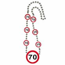 Ketting 70 Jaar Verkeersbord (D3-8-4)