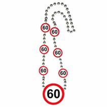 Ketting 60 Jaar Verkeersbord (D4-6-3)