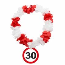 Hawaii Krans 30 Jaar Verkeersbord