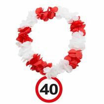 Hawaii Krans 40 Jaar Verkeersbord (D5-3-4)