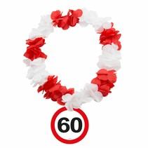Hawaii Krans 60 Jaar Verkeersbord (D4-6-4)