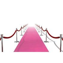 Roze Loper Actie 450x60cm