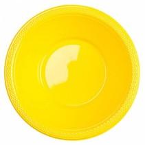 Gele Tafelbakjes Plastic 335ml 10 stuks (J17-5-4)