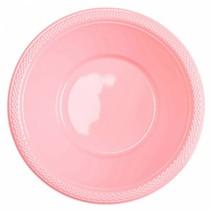 Lichtroze Tafelbakjes Plastic 335ml 10 stuks