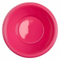 Fuchsia Tafelbakjes Plastic 335ml 10 stuks