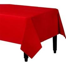 Rood Tafelkleed Plastic 274x137cm