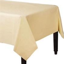 Ivoorkleur Tafelkleed 274x137cm
