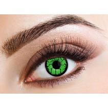 Kleurlenzen Groen/Zwart