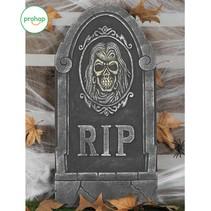 Halloween Grafsteen Schedel 65x33cm