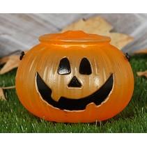Halloween Pompoen Snoepbak 12cm