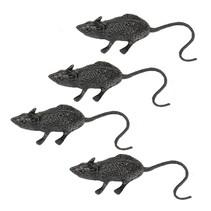Nep Ratten 6cm 4 stuks (NO4-3-4)