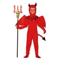 Halloween Kostuum Kind Duivel met vleugels (L5-1-4)