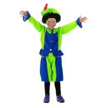 Pietenpak Kind Blauw/Groen