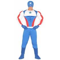 Superheld Kostuum Amerika (M8-2-4)
