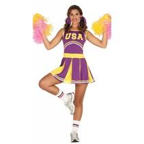 Cheerleader Kostuum Paars