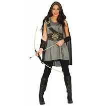 Robin Hood Kostuum Zwart Dames (N5-3-7)
