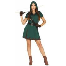 Robin Hood Kostuum Dames (N5-3-6)