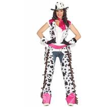 Cowgirl Kostuum Roze