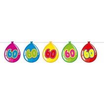 Slingers 60 Jaar Ballonnen 10 meter