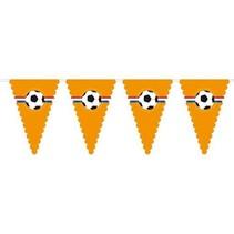 Voetbal Slingers Oranje XL 8 meter
