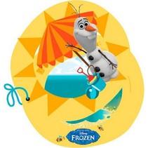 Frozen Uitnodigingen Olaf 6 stuks (E6-7-1)