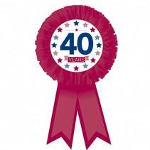 Rozet 40 Jaar (D6-7-1)