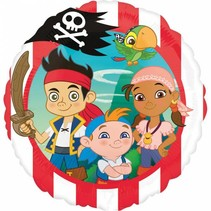 Jake and the Neverland Pirates Helium Ballon 43cm leeg