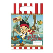 Jake and the Neverland Pirates Uitdeelzakjes 6 stuks