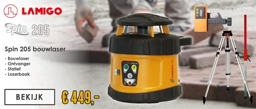Lamigo Spin 205 Rotatielaser