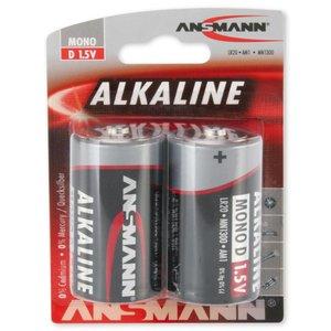 Ansmann D-Cell Alkaline Blister 2stk