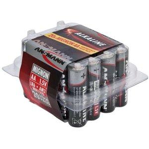 Ansmann AA Alkaline batterijen 20stk