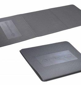 FITNESS MAD Studio Pro Stretch 3 Fold Aerobic Mat 134 x 50 x 0.9 cm (0.6kg) opvouwbaar EVA Zilver