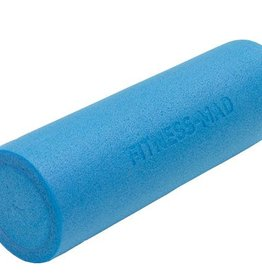 FITNESS MAD Foam Roller Blue Short 45 x 15 cm (0.6kg) PE Blauw
