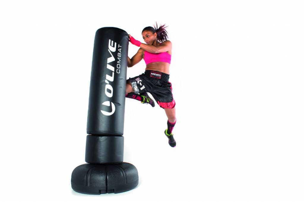 o 39 live fitness o 39 live free standing punching bag 170cm. Black Bedroom Furniture Sets. Home Design Ideas